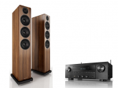 Denon DRA-800H + ACOUSTIC ENERGY AE120 - Zestaw stereofoniczny
